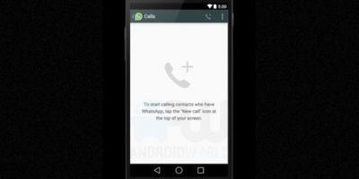 La pantalla cuando no han realizado llamadas. Foto:Android World