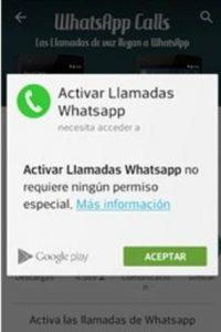 La actualización de WhatsApp para llamadas gratuitas. Foto:Twitter