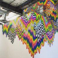 ¿Se imaginan trabajar en un lugar lleno de arte? Foto:instagram.com/johnbarnett