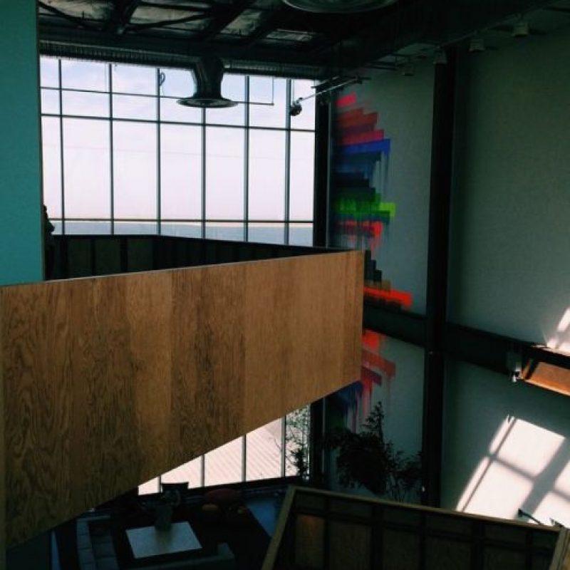 El interior de las oficinas. Foto:instagram.com/andrewblotky