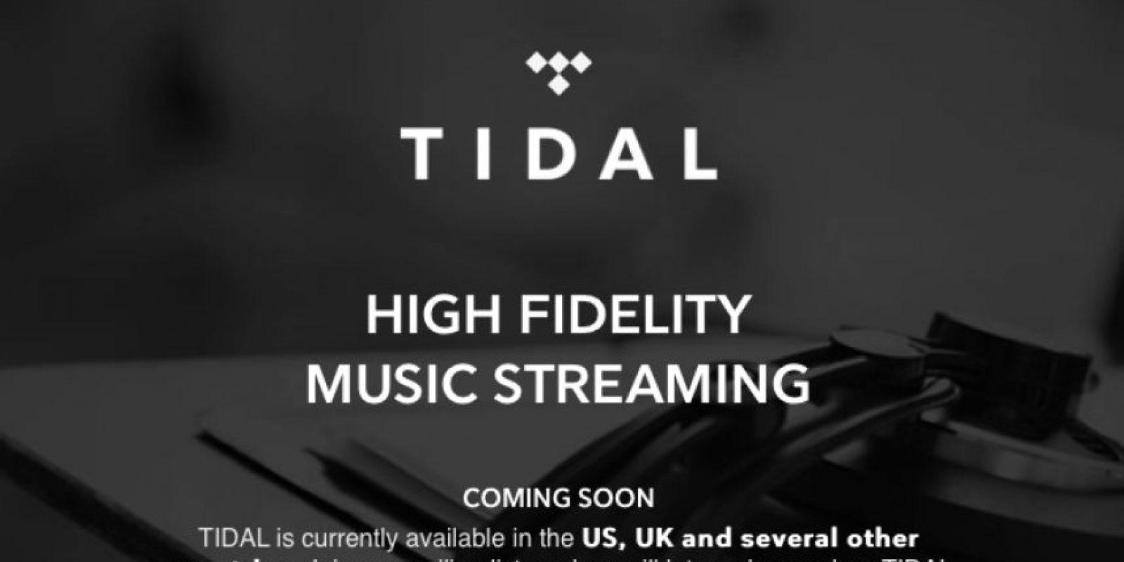 Tidal tiene un costo por sus servicios de 19.99 dólares mensuales. Foto:tidal.com
