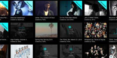 Tidal cuenta con 25 millones de canciones en su catálogo. Foto:tidal.com