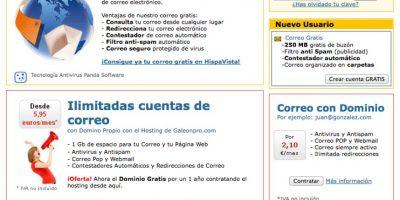 Hipavista ofrece también dominios para blog Foto:Hispavista