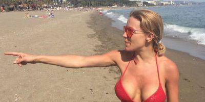 Evangelina Anderson es una modelo y actriz argentina, con ascendencia irlandesa. Foto:Twitter @evange_anderson