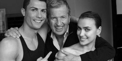 En cambio, con Cristiano Jr siempre tuvo una buena relación y llegaron a mostrarse los tres como una familia en eventos públicos. Foto:Instagram @Cristiano