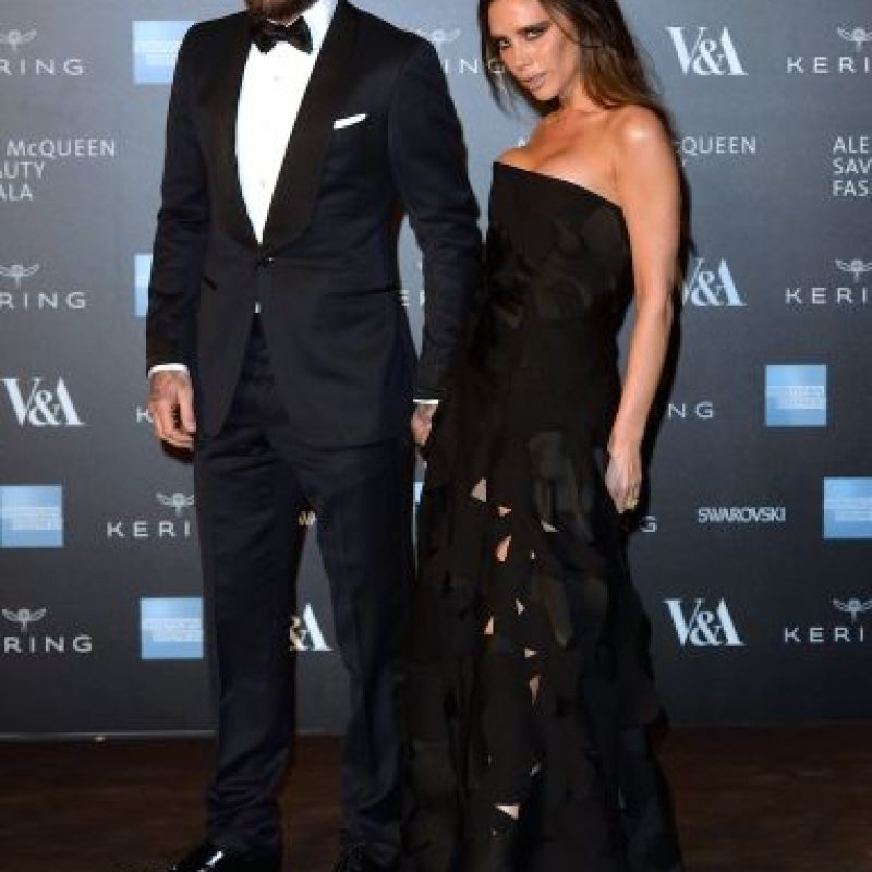 David y Victoria Beckham Foto: Getty