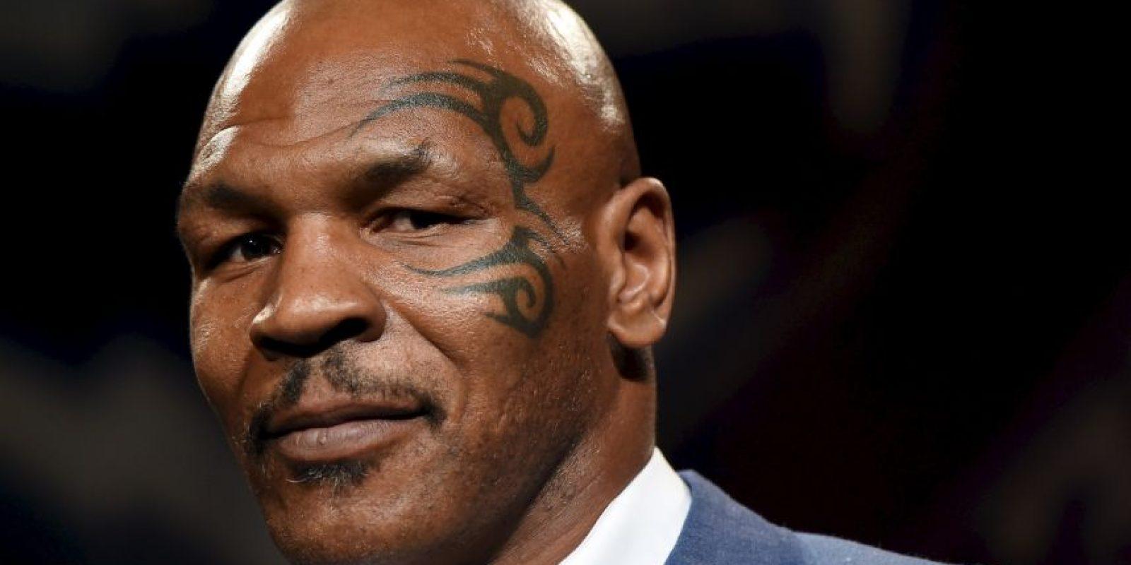 Durante su carrera como boxeador, Mike Tyson llegó a tener una fortuna de 300 millones de dólares. Foto:Getty Images