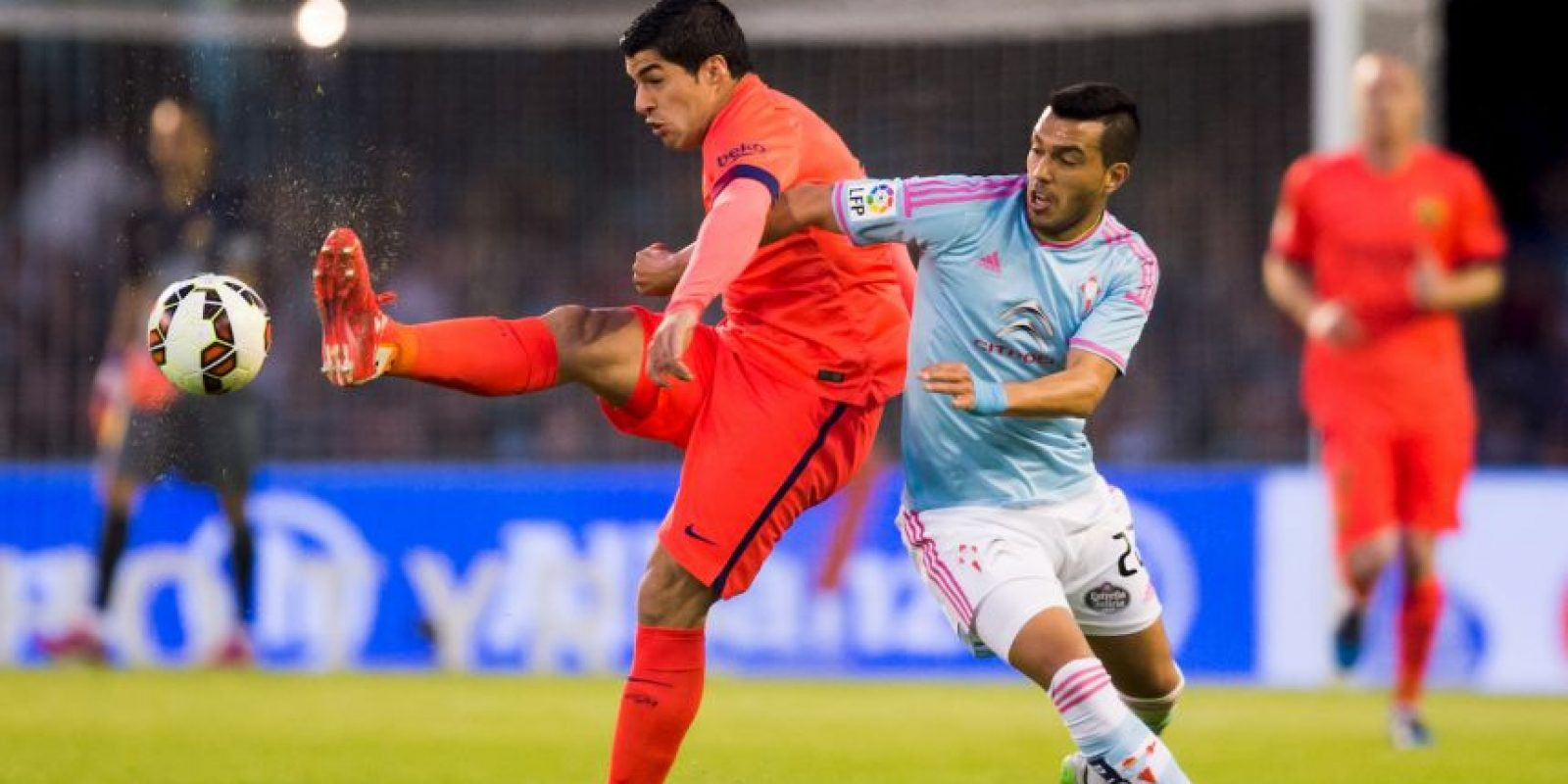 Barcelona sufrió en su visita al Celta de Vigo. Foto:Getty Images