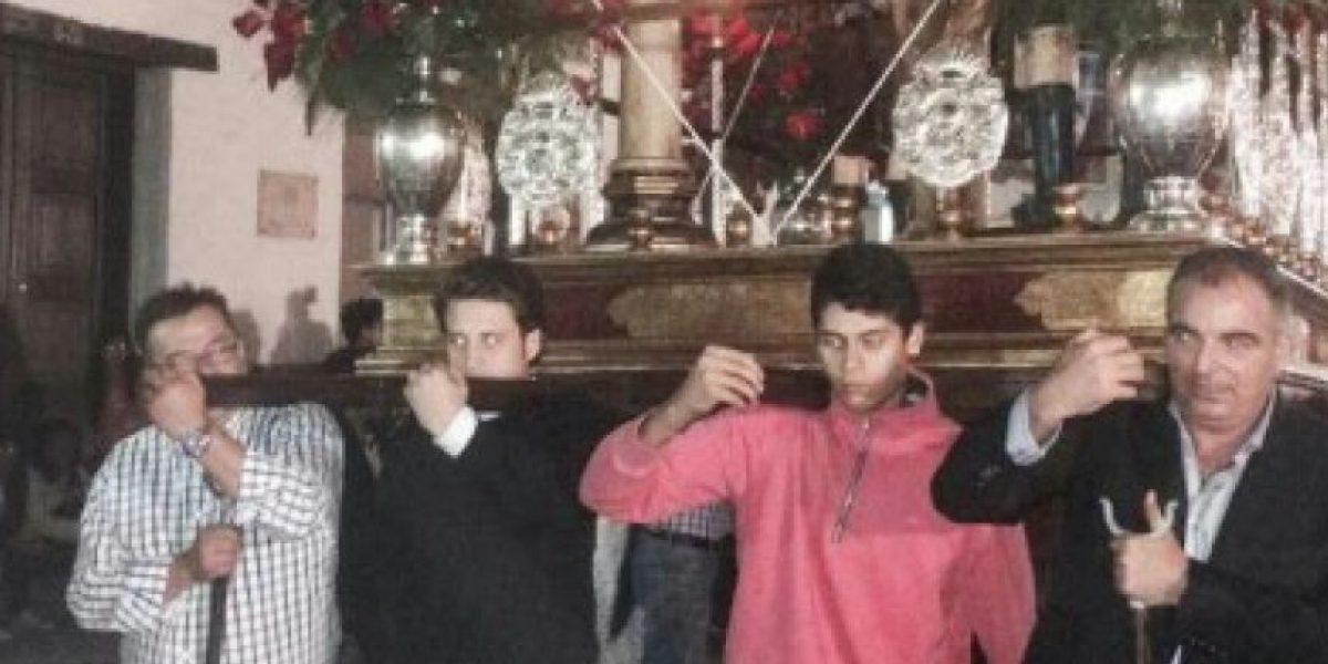 Ministro Iragorri no abandona sus santas tradiciones