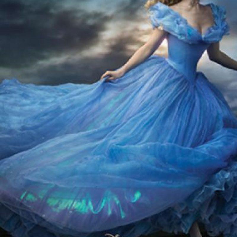 1. Hay ocho versiones del vestido. Todos son distintos. Foto:Disney