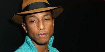 Pharrell Williams presume su Apple Watch antes de que salga a la venta. Foto:Getty Images