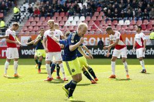 Utrecht pudo jugar con 12 futbolistas durante algunos minutos… Foto:Getty Images