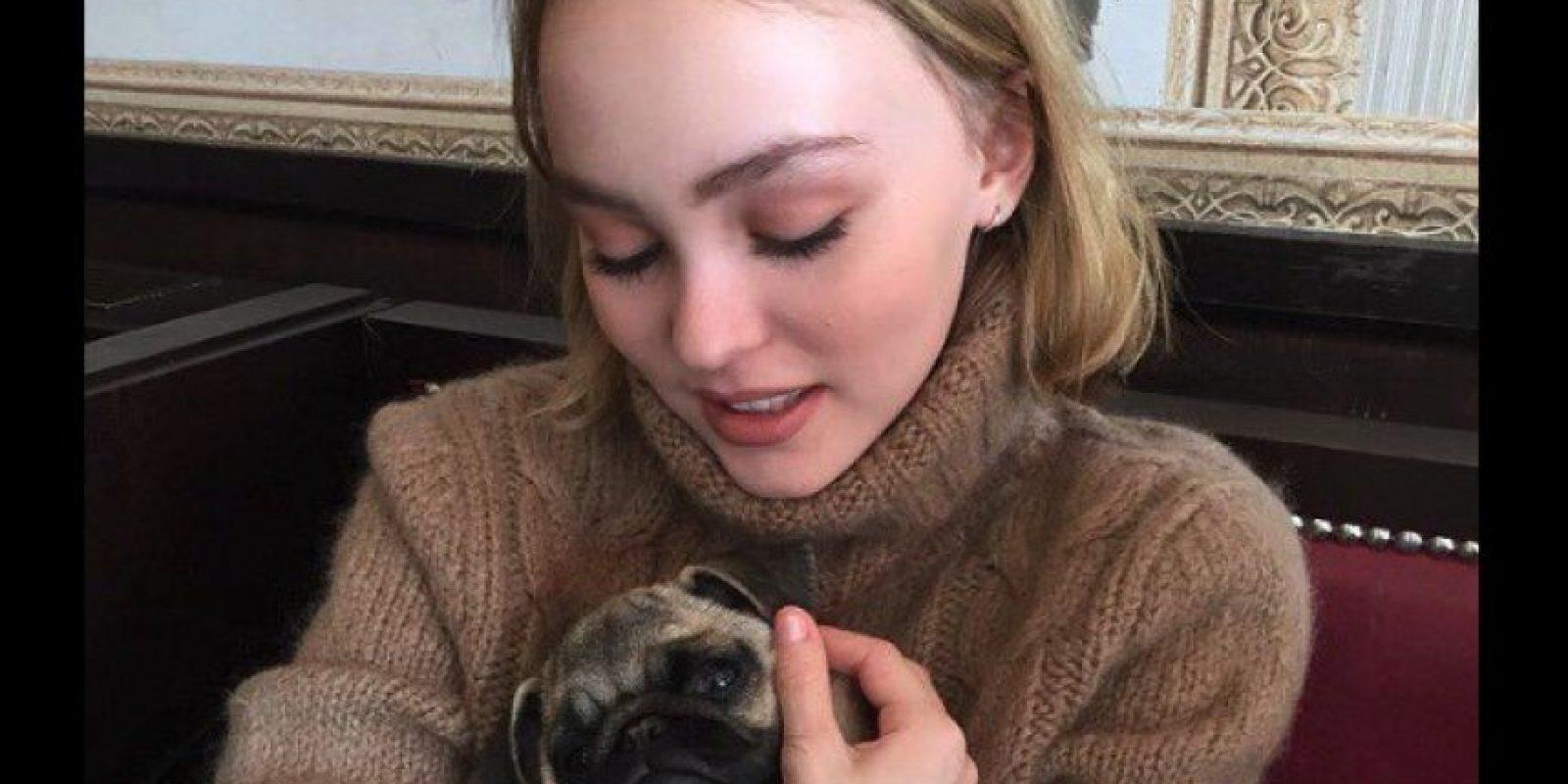 Lily Rose Depp Foto:Vía Instagram.com/lilyrose_depp