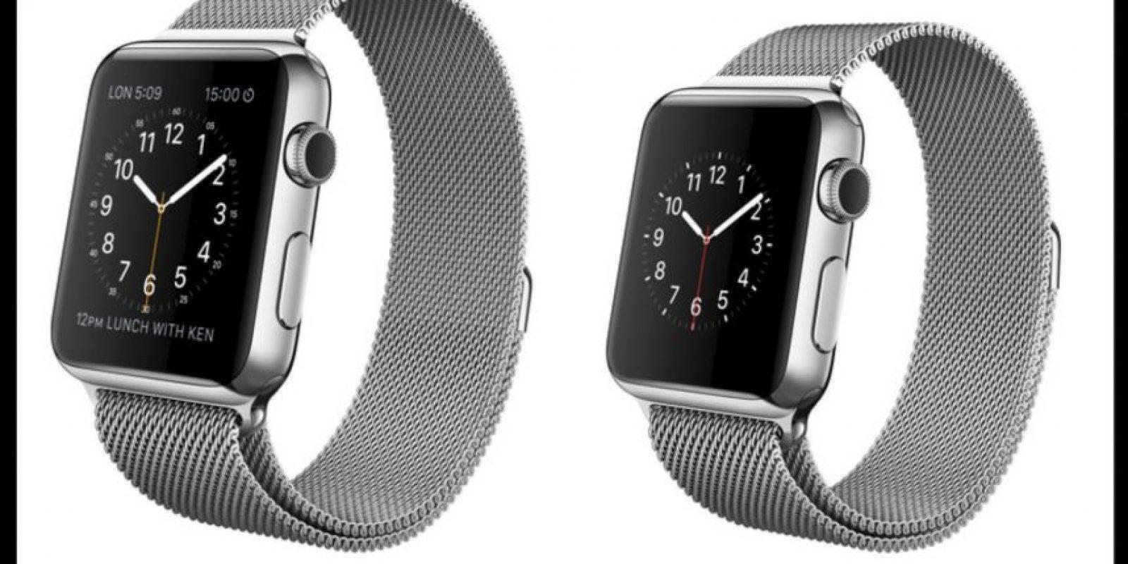 Esta es la versión con banda ajustable. Foto:Apple
