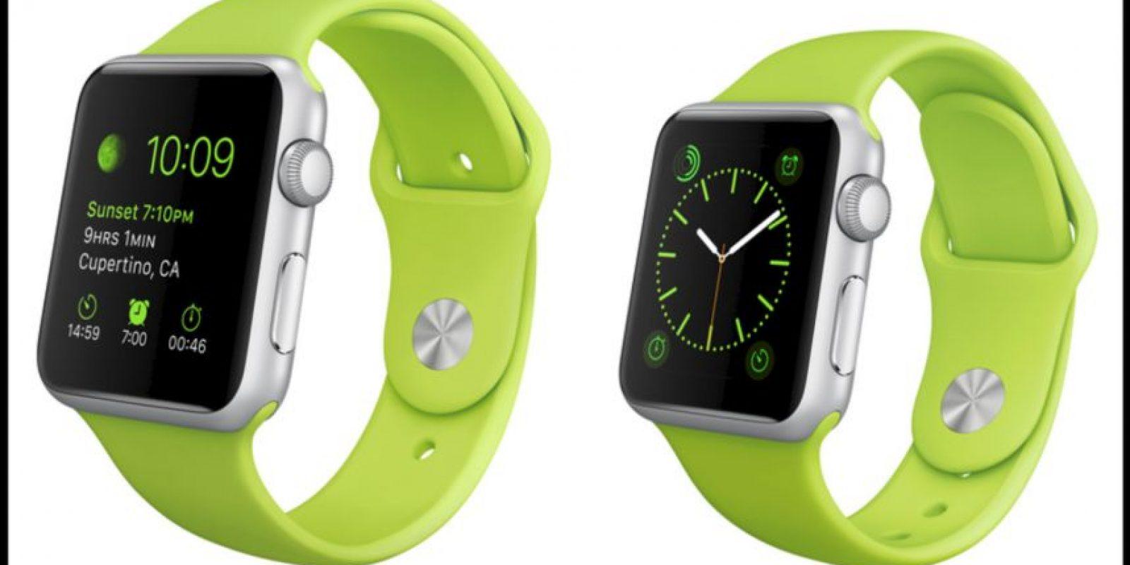 Verde. Foto:Apple