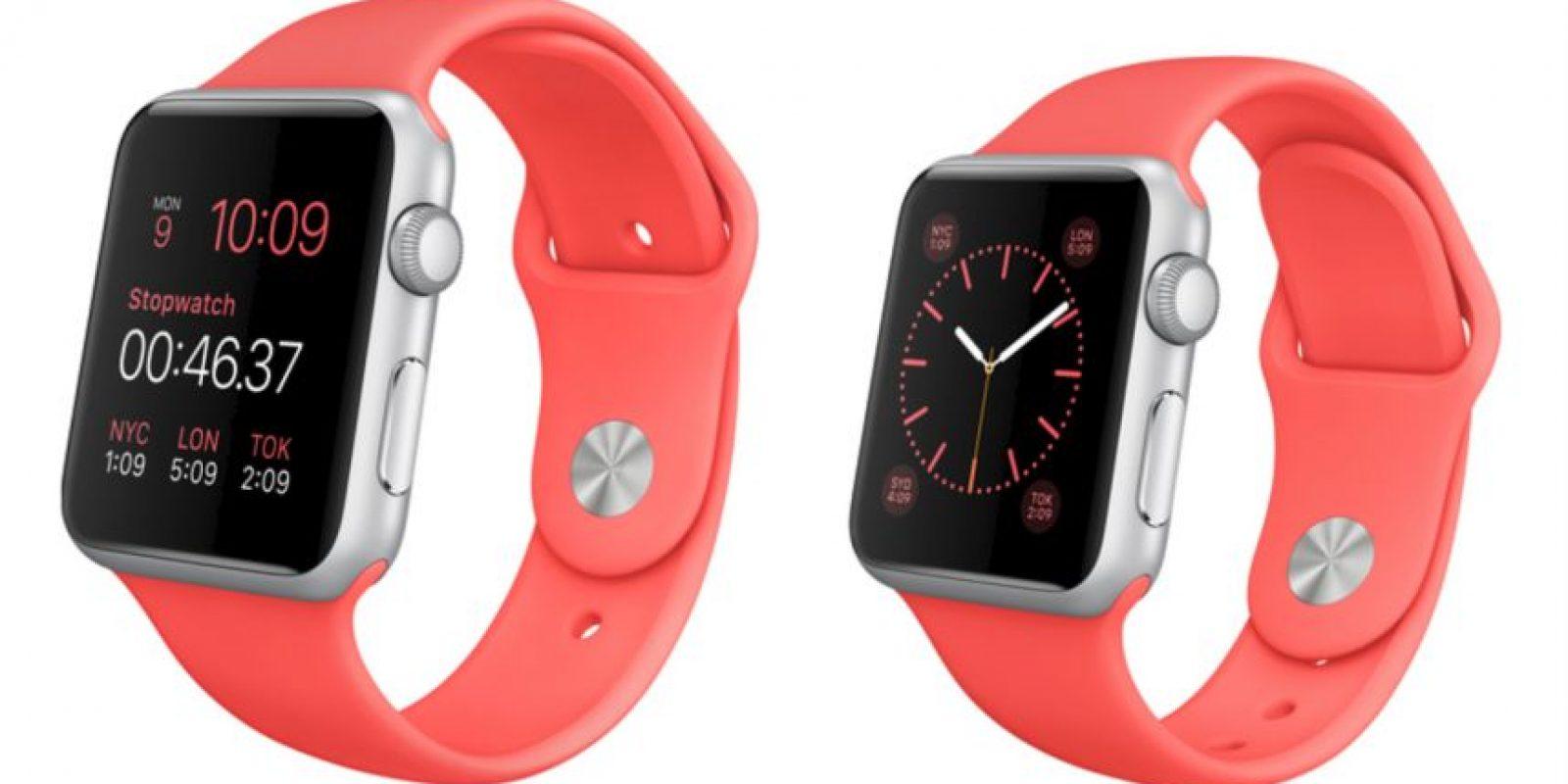 Disponible en colores rosa. Foto:Apple