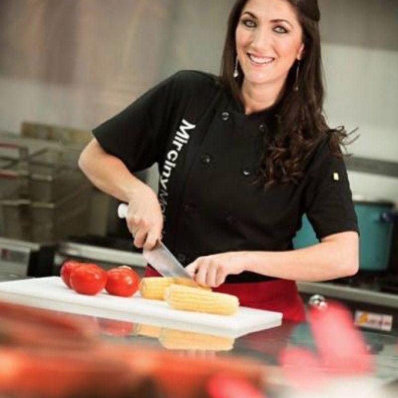 En la foto la Chef Mirciny Moliviatis Foto:Facebook/Mirciny Moliviatis