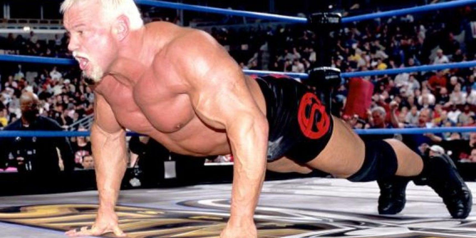 Scott Steiner formaba parte de la WCW Foto:WWE