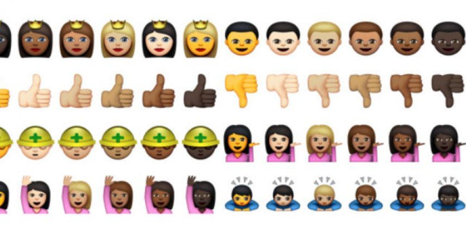 Estos son algunos de los emojis disponibles desde hoy para Yosemite de Apple. Foto:Emojipedia