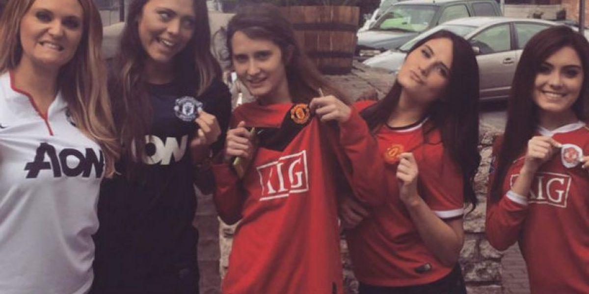 Una chica asegura que su hermana es igual a figura del Manchester United