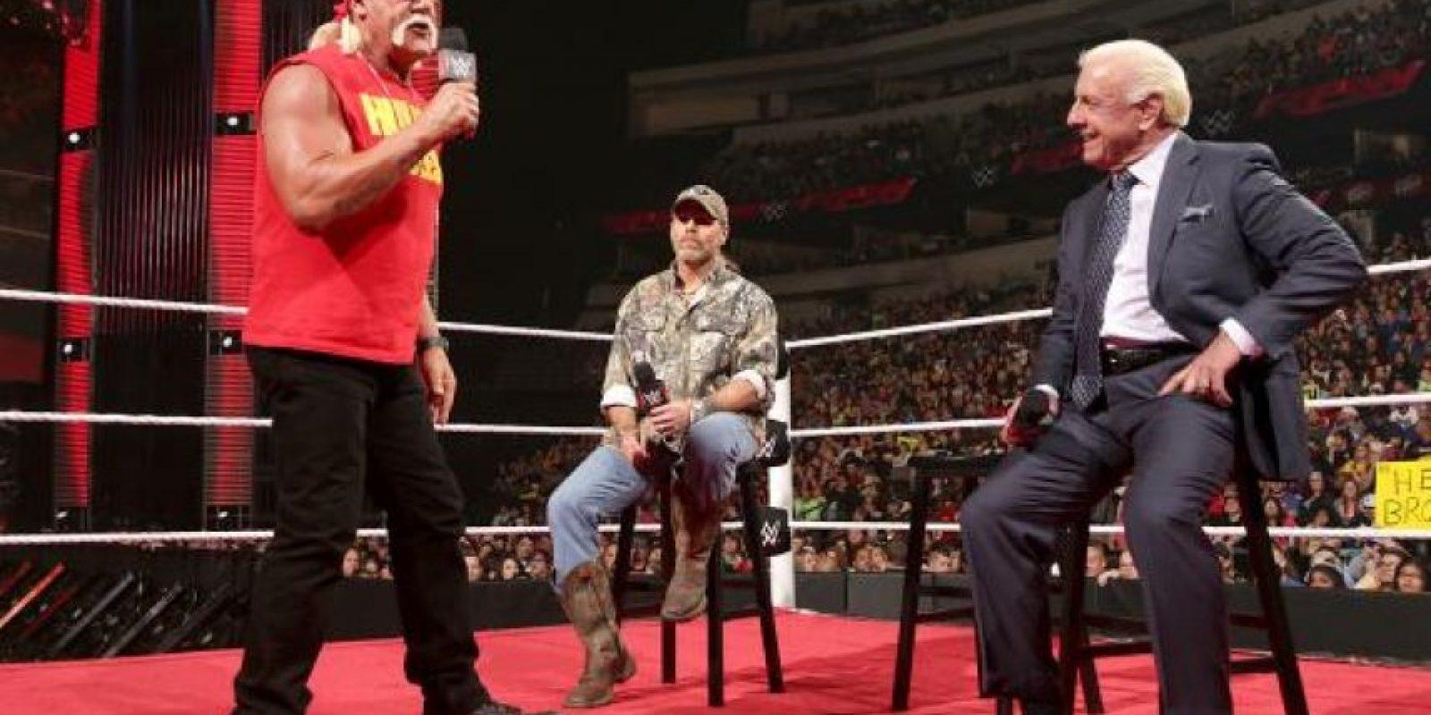 Hogan es miembro del Salón de la Fama de la WWE Foto:WWE