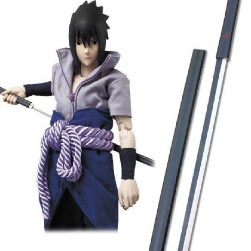 ¿Se acuerdan de la Kusanagi? Esta es la espada que se liberó del cuerpo de Sasuke a través del Jutsu de la Serpiente de Ocho Cabezas. Pues bien, en realidad existe, o eso se dice en Japón. Foto:Tv Tokyo