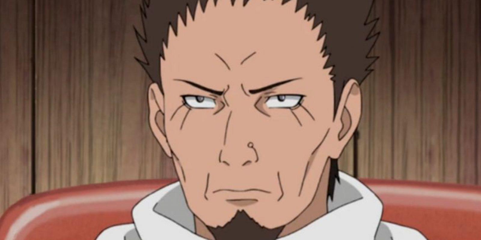 Cuando lucha con su invocación, Enma, se ve que este tiene forma de mono. Es porque Enma es su tío y está relacionado con el primer superninja, Sasuke Sarutobi. Foto:Tv Tokyo