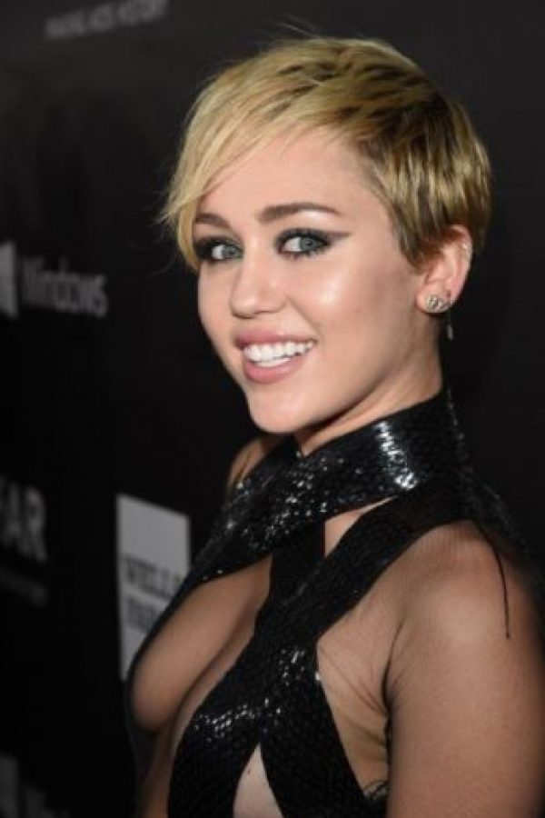 Miley Cyrus ganó el año pasado 36 millones de dólares. Foto:Getty Images