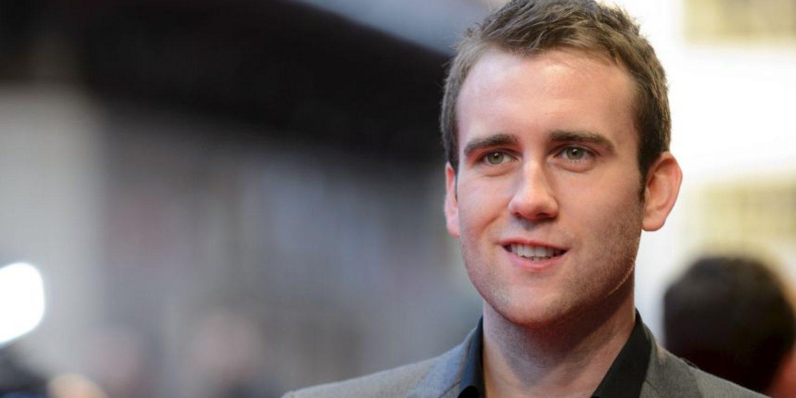 Matthew Lewis es un actor británico Foto:Getty Images