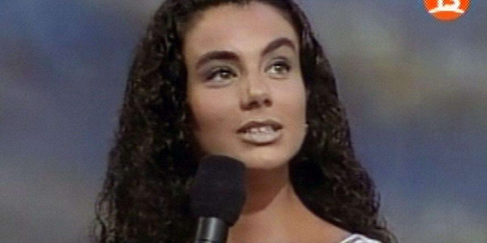 En 2001, Carolina Zuñiga se coronó como Miss Chile a pesar de elegir al Papa y a la Madre Teresa de Calcuta para preervar la especie humana en caso de un holocausto nuclear. Foto:Twitter