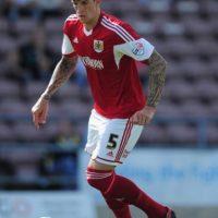 Flint comenzó su carrera en Alfreton Town, y luego pasó al Swindon Town de la Ligue One. Foto:Getty Images