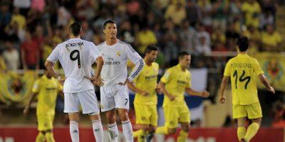 En 2012, Real Madrid recibió al Villarreal en el Santiago Bernabéu y tras un partido difícil y lleno de polémicas arbitrales, apenas consiguieron el empate 1-1. Foto:Getty Images