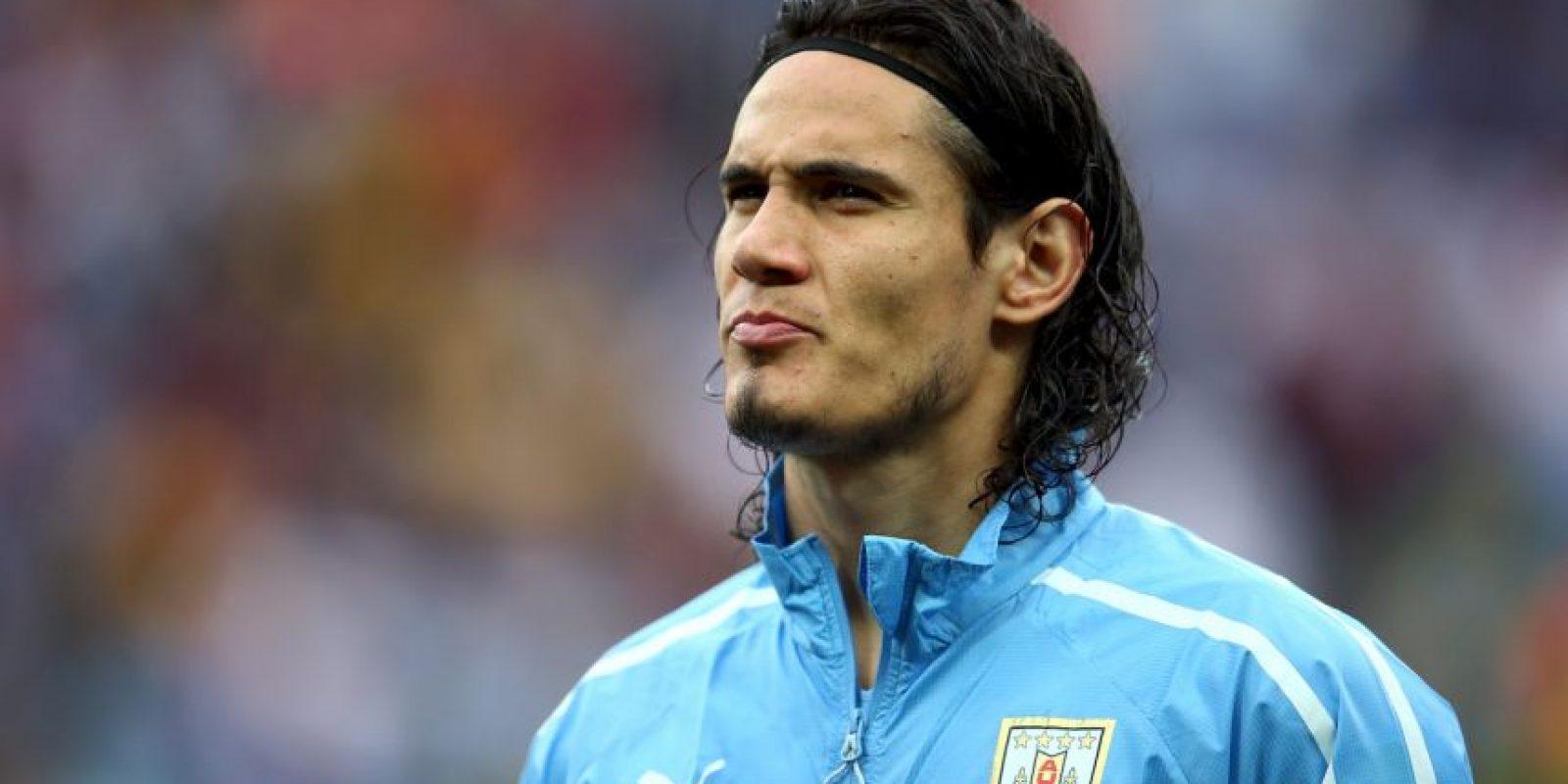 """Desde 2008 es internacional de Uruguay, y ha marcado 25 tantos con la camiseta de los """"charrúas"""". Foto:Getty Images"""