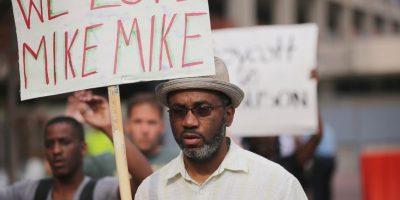 Michael Brown fue un joven afroamericano asesinado en Ferguson, Misuri, a manos de un policía. Foto:Getty Images