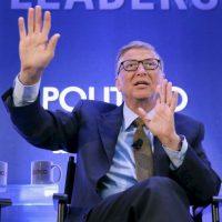 En la foto: Cofundador de Microsoft Bill Gates. Foto:Getty Images