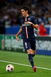 Cavani tiene 28 años y en dos temporadas con el PSG, ha marcado 43 goles en 85 partidos. Foto:Getty Images