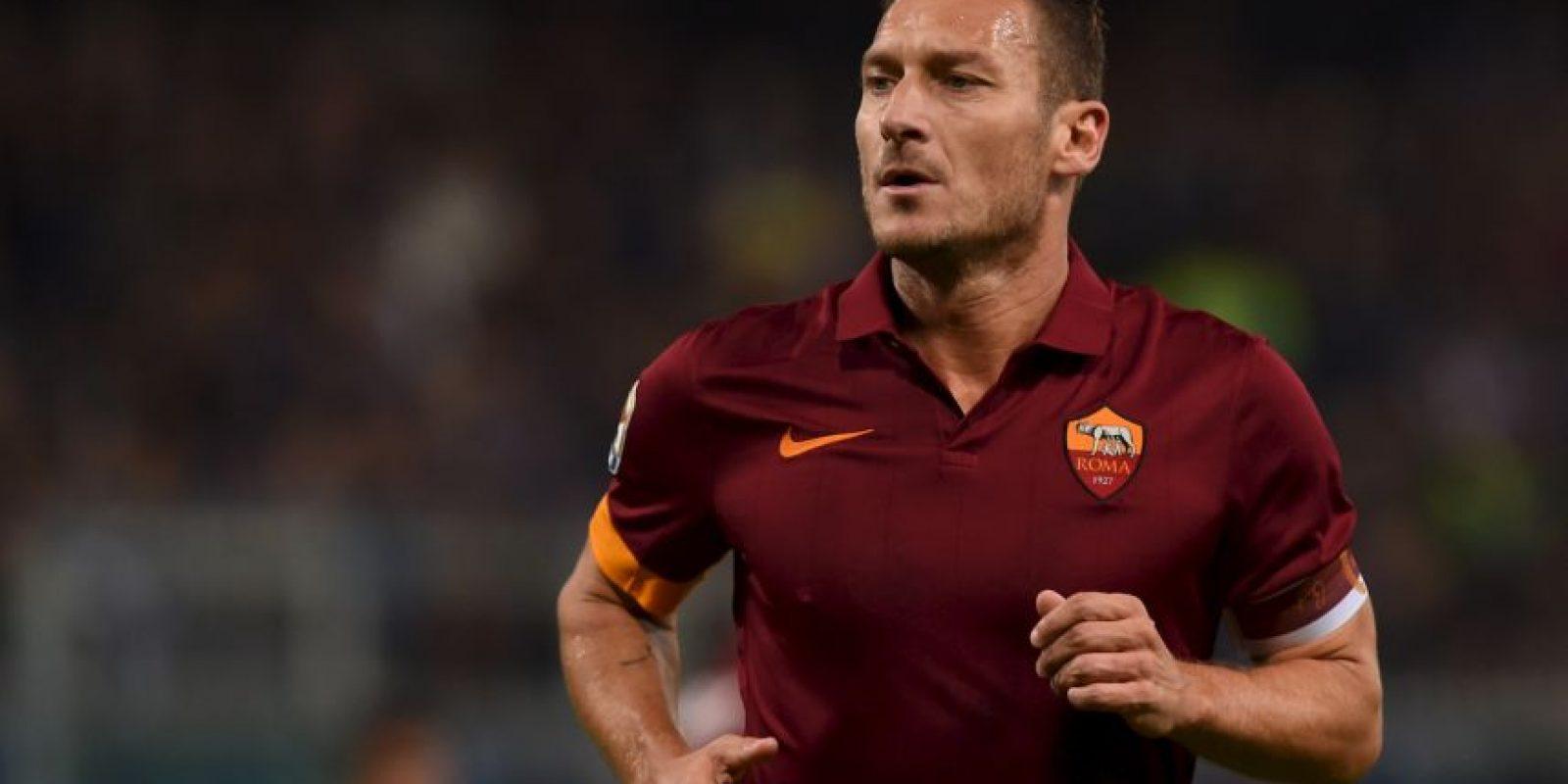 Francesco Totti anotó 14 goles de tiro libre Foto:Getty Images