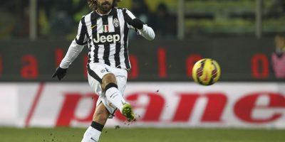 El mediocampista italiano se encuentra a dos dianas de igualar el récord de goles a balón parado en la Serie A Foto:Getty Images