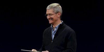 En la foto: Actual CEO de Apple, Tim Cook. Foto:Getty Images
