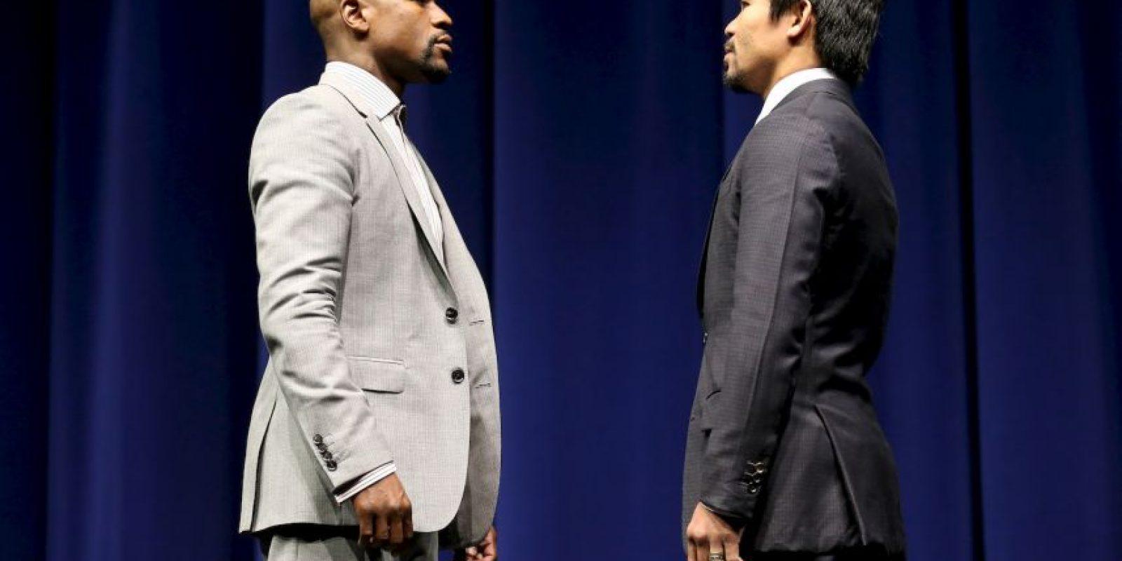 Así luce Floyd a sus 38 años Foto:Getty Images
