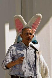 El presidente realizó un evento para celebrar la Pascua Foto:Getty Images