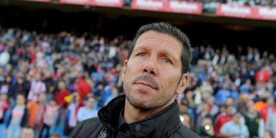 """""""No ganan siempre los buenos, ganan los que luchan"""", el """"Cholo"""" es DT del Atlético de Madrid Foto:Getty Images"""