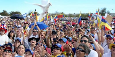 Según expresidentes hay un problema de represión en Venezuela Foto:Getty Images