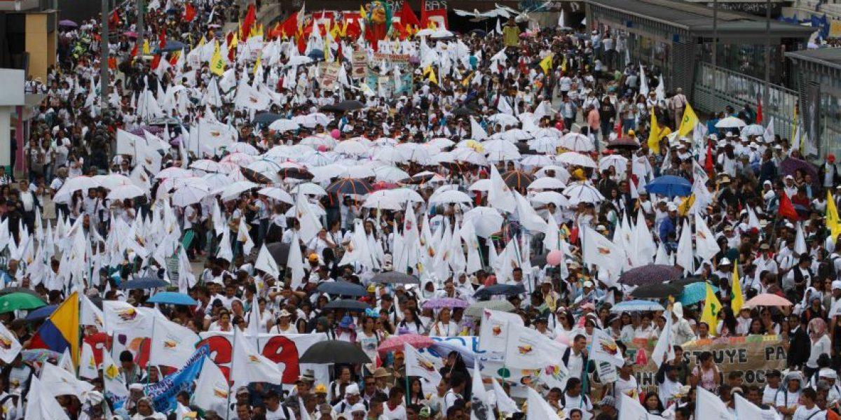 FOTOS: Los mejores momentos de la marcha por la paz