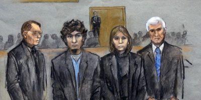 Dzhokhar Tsarnaev fue encontrado culpable de 30 cargos, de los cuales 17 conducen a la pena de muerte. Foto:AP