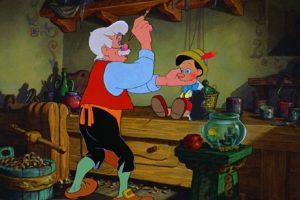 Esta historia narra la vida de Gepetto, un carpintero que vive con un gato y un pez dorado. Foto:IMDB/ Walt Disney Production