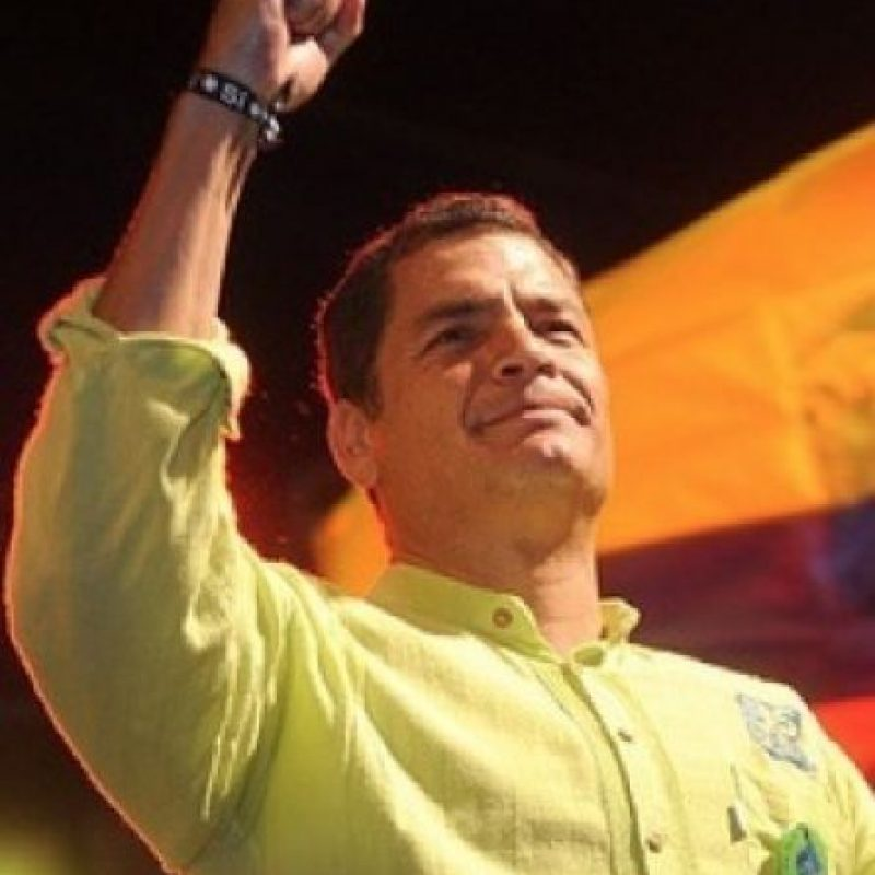 Ecuador: Rafael Vicente Correa Delgado (@MashiRafael). Foto:twitter.com/MashiRafael