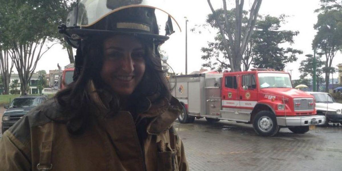 FOTOS: María Fernanda Cabal, la congresista bombera