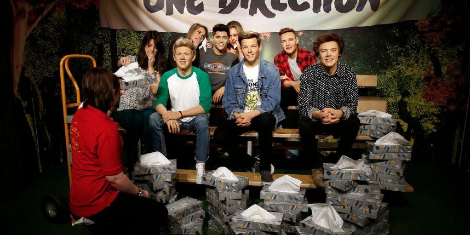 El único lugar donde Malik sigue siendo parte de One Direction Foto:Getty Images