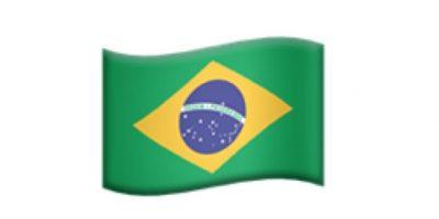 Bandera de Brasil. Foto:Apple